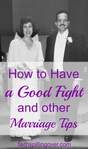 My husband and I barely made it to the altar, but we're happily married today. Here's the best of what we've learned in 20 years, especially about conflict.