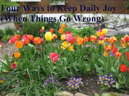 four ways to keep daily joy
