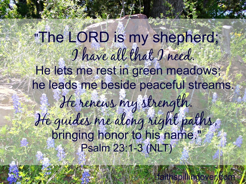 The Lord is My Shepherd whole text