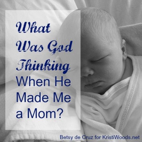 God used motherhood to mold me