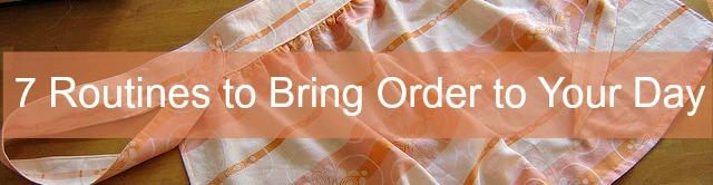 bring order