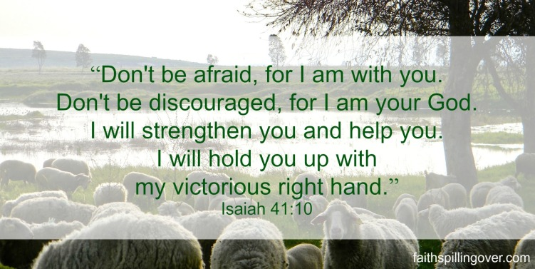 FMF do not be afraid Isaiah 41