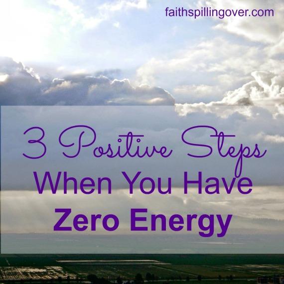 3 Positive Steps