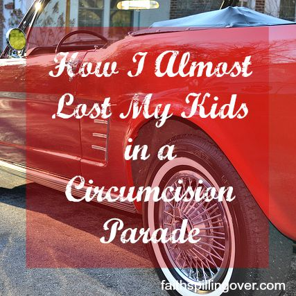 How I almost Lost my kids