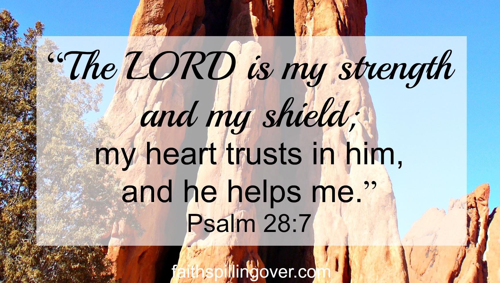 A Trustworthy God In An Uncertain World