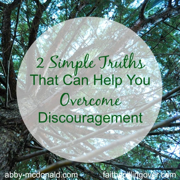 Two simple truths title graphic