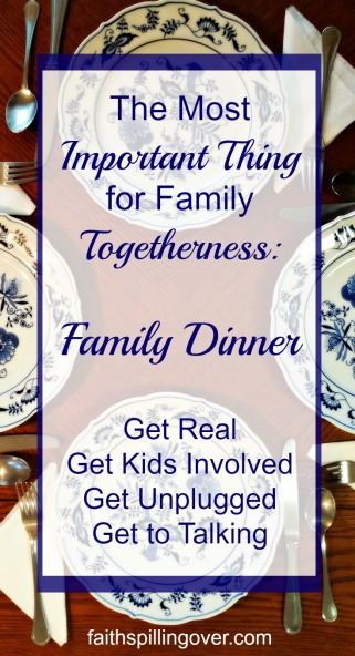Family dinner guarantees that kids get time with their parents and improves family relationships. 4 tips to make it work.