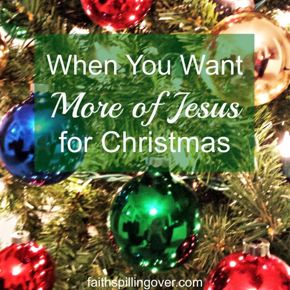 Advent More of Jesus for Christmas