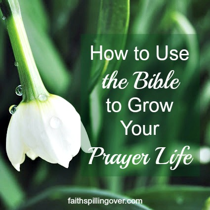 God's Word has power to fuel your prayer life. Here are 3 Ways to Pray Using the Bible, and a free printable, 6 Prayers From Scripture to Make Your Own.