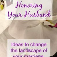 10 Ways to Focus on Honoring Your Husband